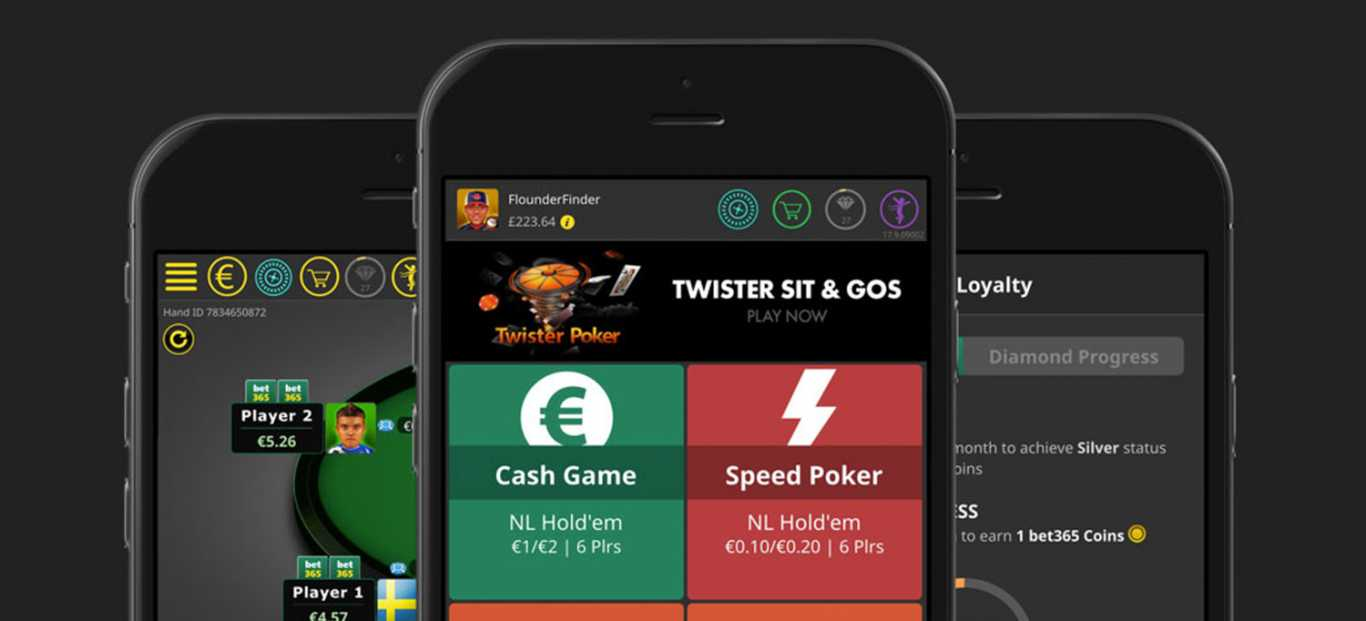 application mobile Bet365